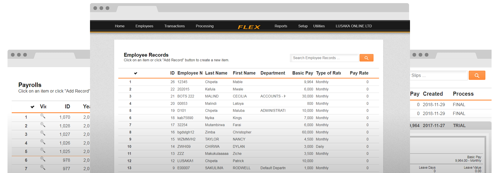 FLEX Payroll - Zambia's Online Payroll System - FREE for SMEs!